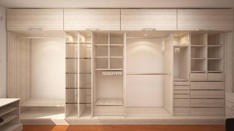 BM Diseño closet tendencia minimalista chicureo 4