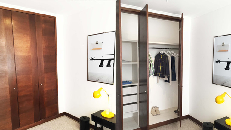 BM Diseño closet tendencia moderna el candil 2