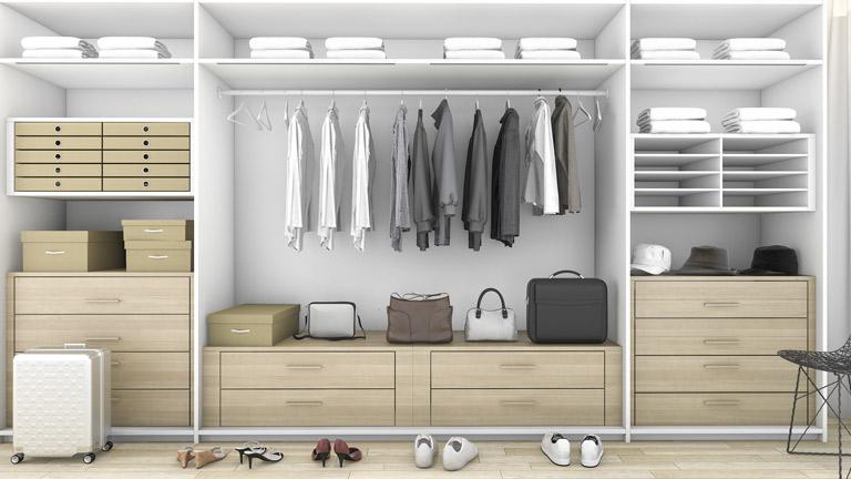 BM Diseño closet tendencia moderna vainilla 2