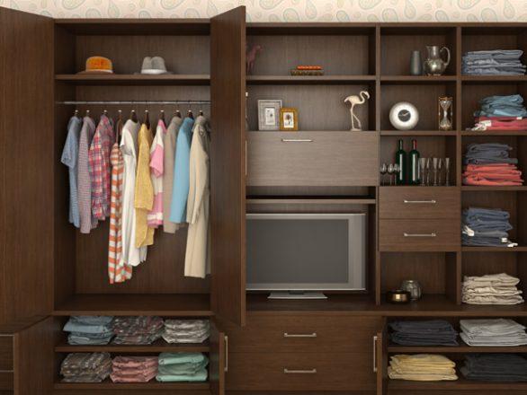 BM Diseño closet tendencia tradicional 01
