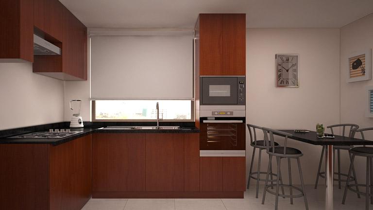 BM Diseño cocina tendencia tradicional las condes 2