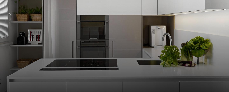 BM Diseño slide cocina minimalista